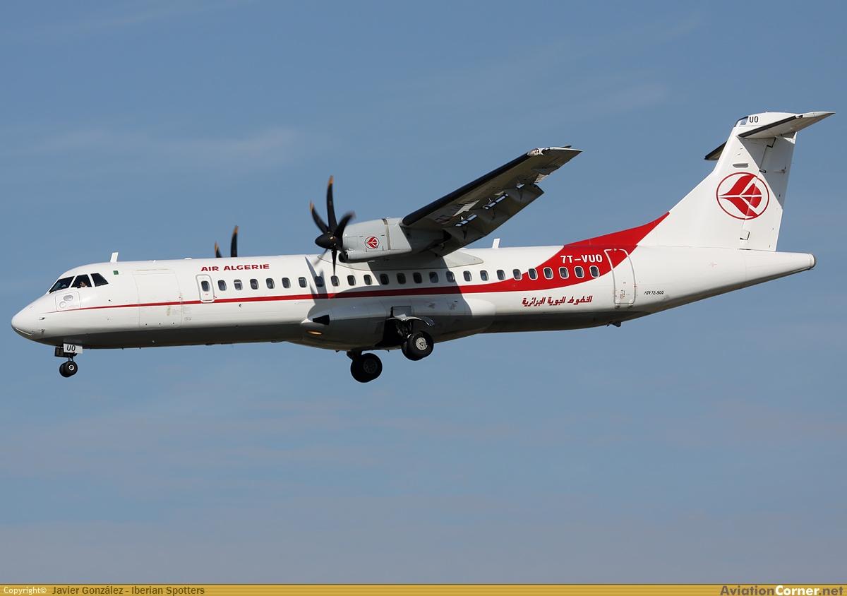 Un avion d air alg rie fait demi tour en raison d une for Air algerie reservation vol interieur