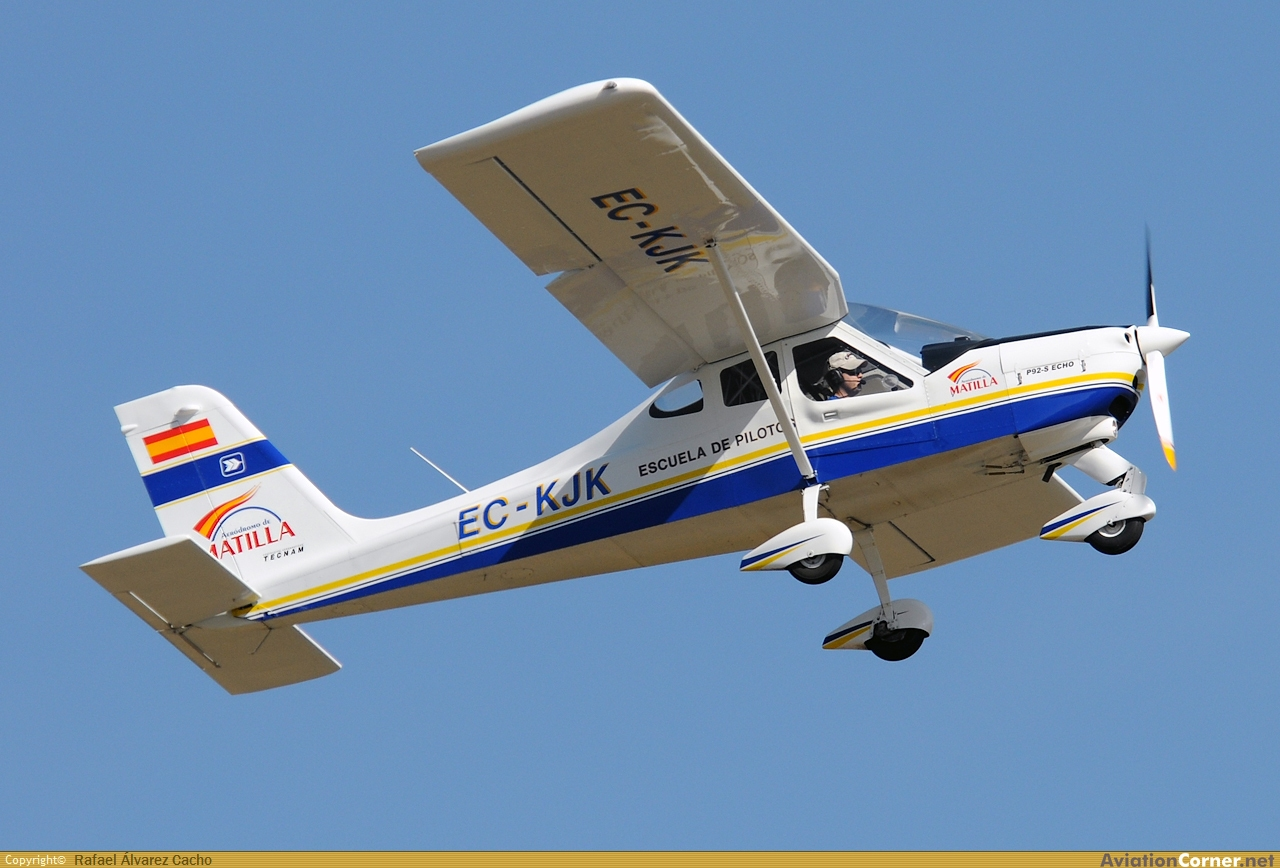 AviationCorner net - Aircraft photography - Tecnam P92 Echo