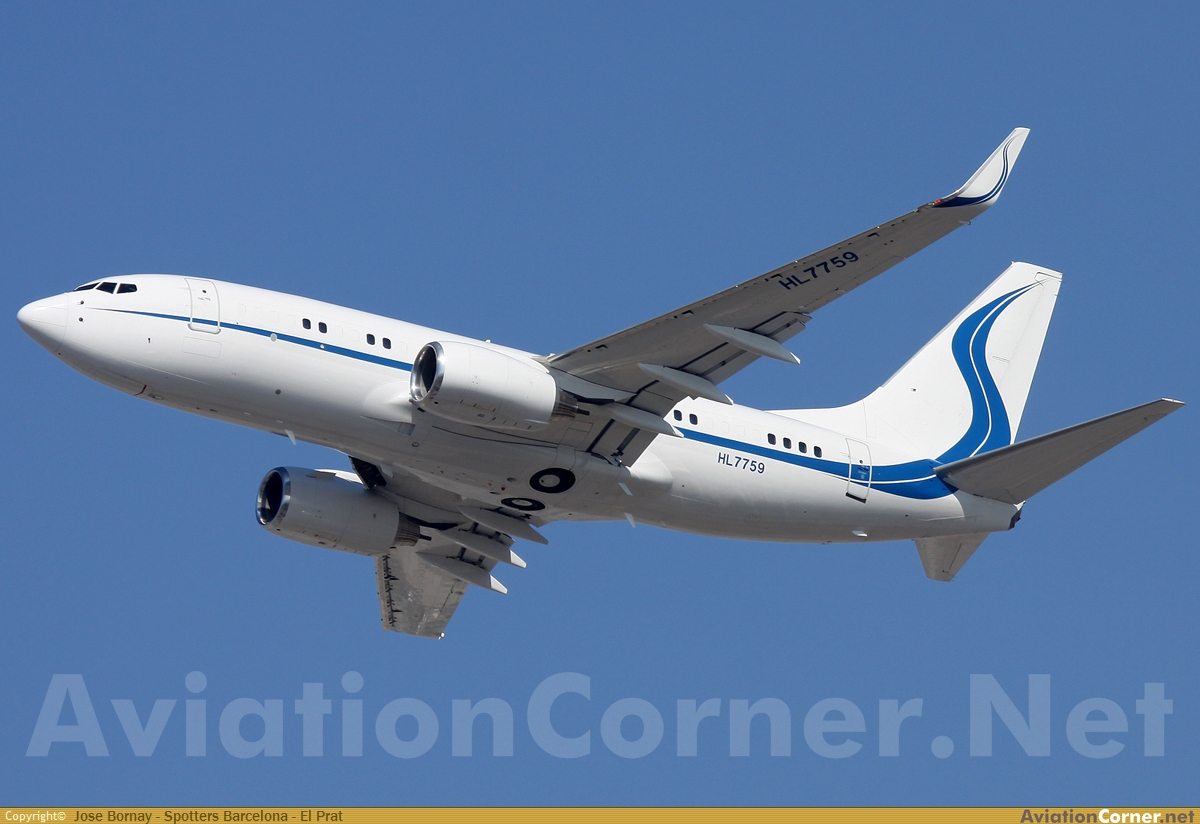 Aviationcorner net aircraft photography boeing 737 7eg bbj